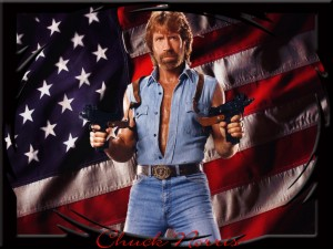 Register to Vote: Chuck Norris Style