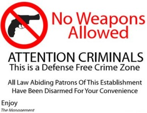 Gun free zones don't work!
