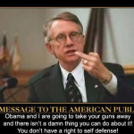 Take Action Alert: Gun Control Phase 1 by Harry Reid Starts Today